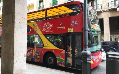 パルマデマヨルカ観光バス