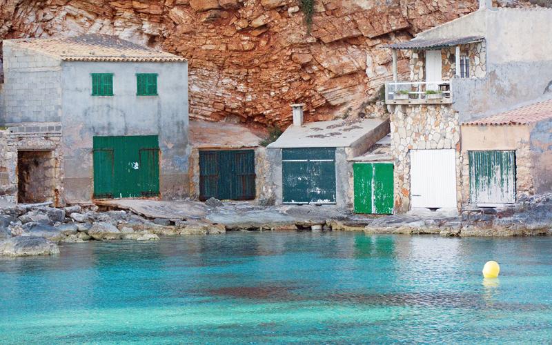 マヨルカ島のボートハウス