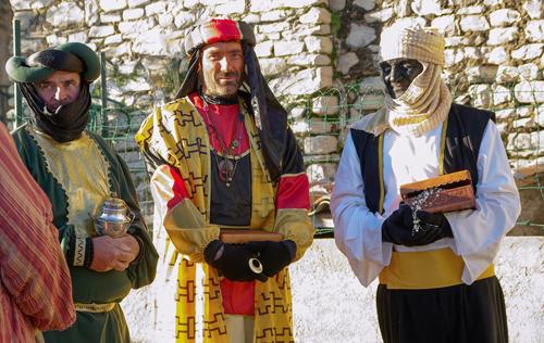 スペインのクリスマスに来る三賢者