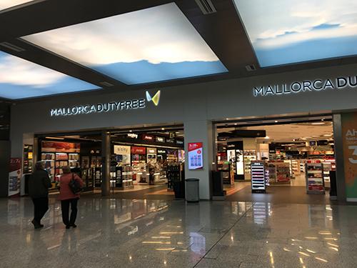 パルマデマヨルカ空港免税店