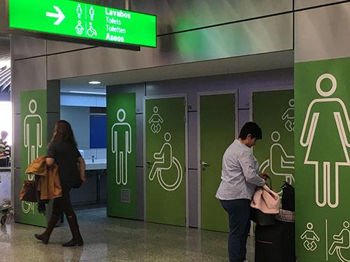 空港トイレ
