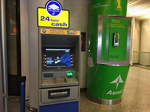 マヨルカ空港ATM