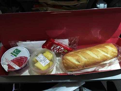 イベリア航空スペインー東京朝食