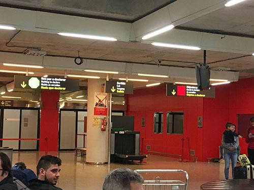 パルマデマヨルカ空港検疫