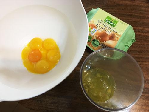 卵を分ける