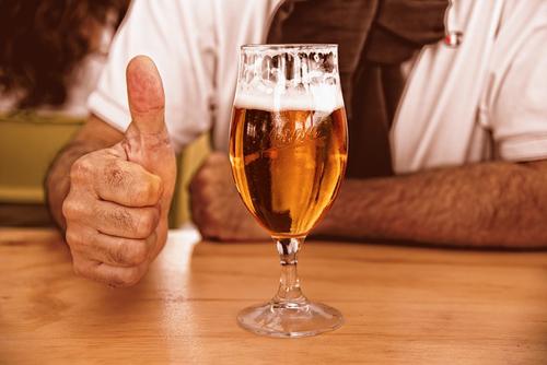 バルでビール