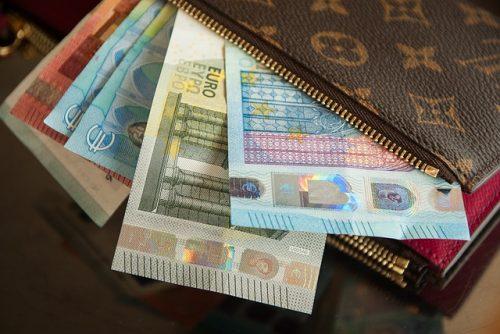ユーロと財布