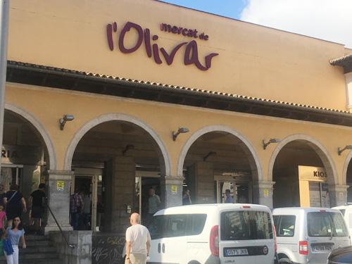 マヨルカ・パルマの市場