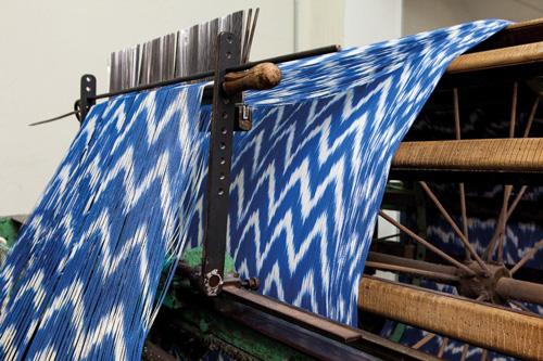 マヨルカ布織り