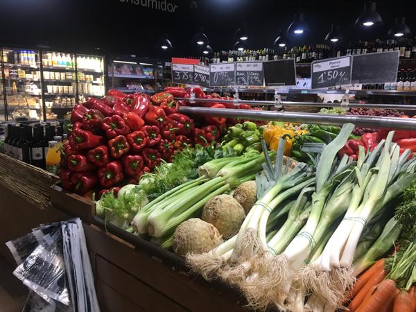 マヨルカのスーパー