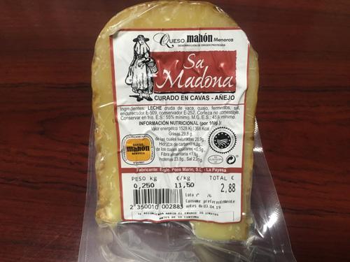 メノルカ産チーズ