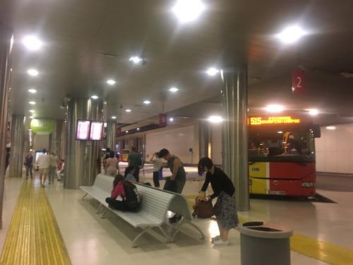 パルマ駅バスターミナル1