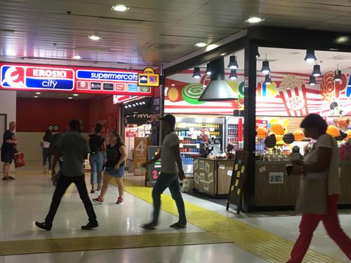 駅構内スーパー