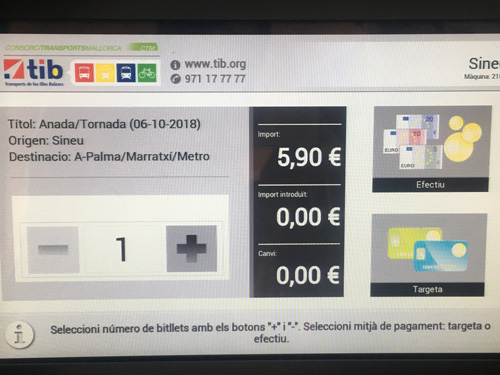 TIB電車チケット購入