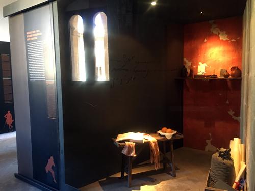 ベルベル城Gasparの部屋