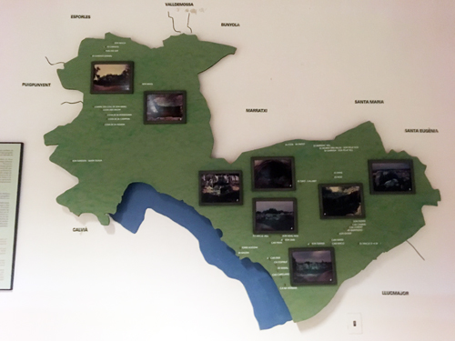 パルマ古代遺跡地図
