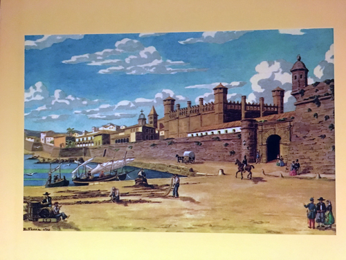 マヨルカパルマ市外壁