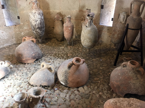 マヨルカローマ時代の壷