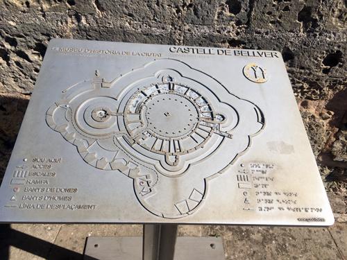 ベルベル城地図
