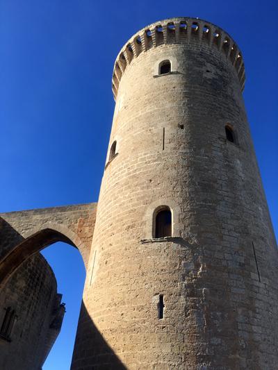 ベルベル城主要塔