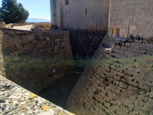 ベルベル城堀
