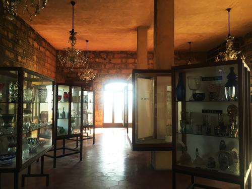 マヨルカガラス博物館内部