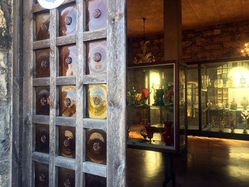 マヨルカガラス博物館入り口