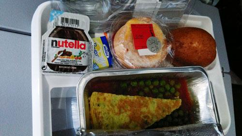 ルフトハンザ航空チャイルドミール朝食