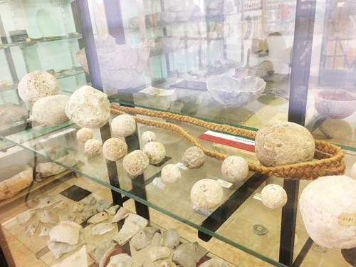 マヨルカの古代兵器