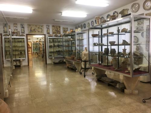 マヨルカ考古学博物館室内