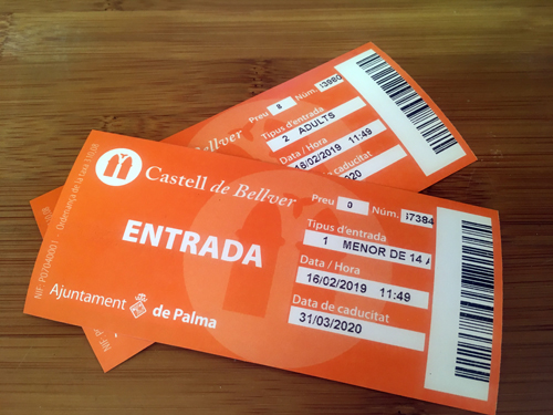 ベルベル城チケット