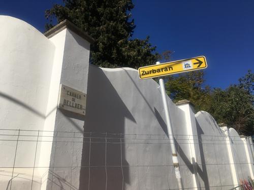 ベルベル城標識