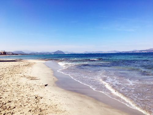カン・ピカフォルトのビーチ