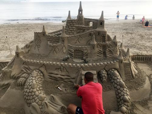 砂の城アート