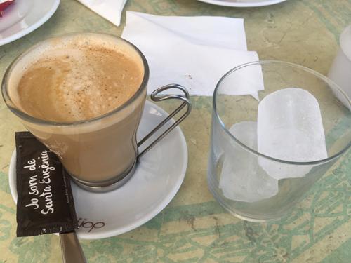 マヨルカのアイスコーヒー