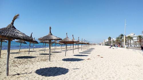 パルマのビーチ