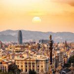 バルセロナのビル群