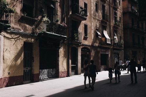 バルセロナの路地
