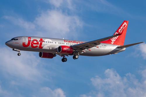 JET2旅客機