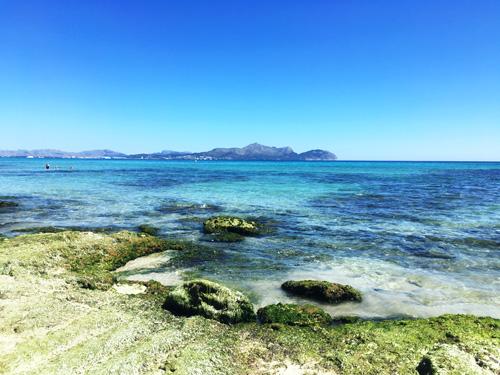 マヨルカのビーチ・カン・ピカフォルト