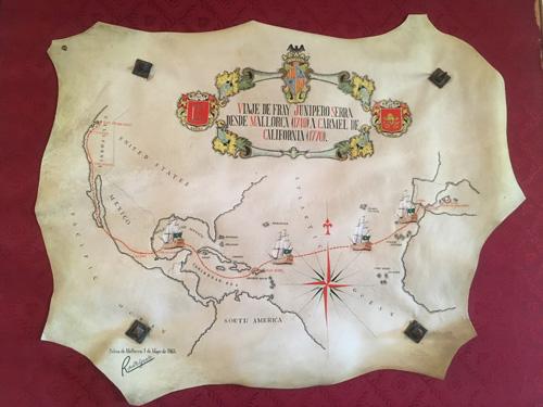 ジュニペロ航海地図