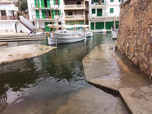 水没した水路