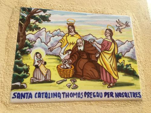 サンタ・カタリナ・トマスのタイル