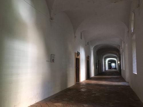 バルデモサのショパン博物館通路