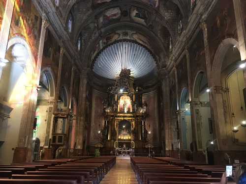 ポレンサ旧市街内教会