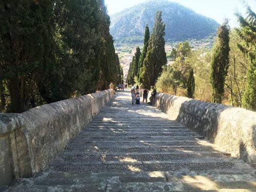 ポレンサ365段の階段