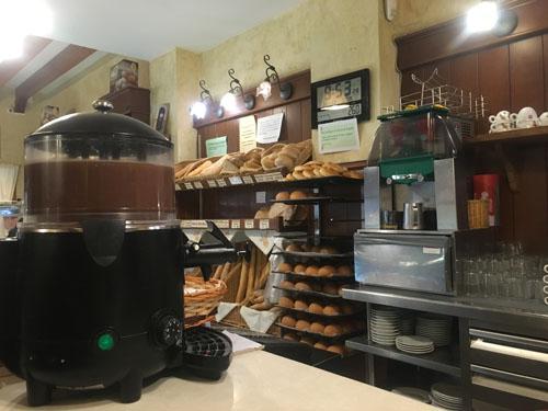 バルデモサのパン屋