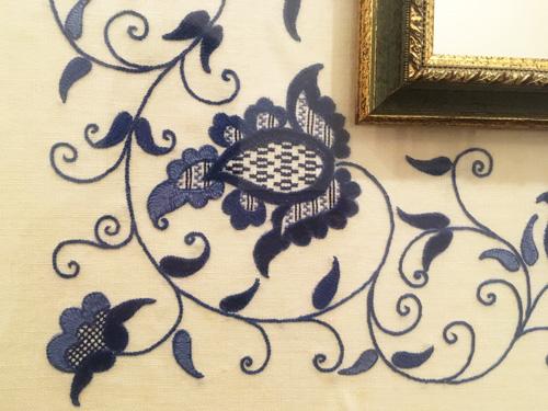 マヨルカ刺繍