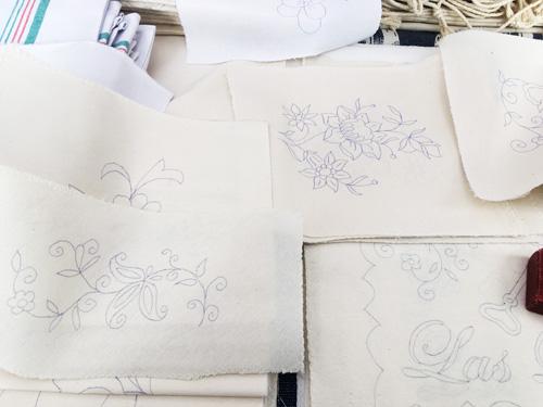 マヨルカ刺繍パターン
