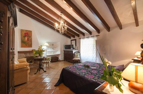 バルデモサのホテル部屋